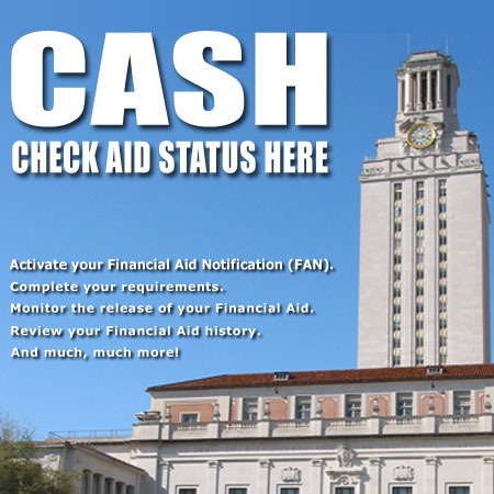 CASH: Check Aid Status Here