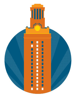 UT Tower graphic
